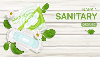 Manufacturing Eco friendly Sanitary napkins