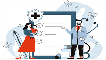 Organizing camps for the health checkups